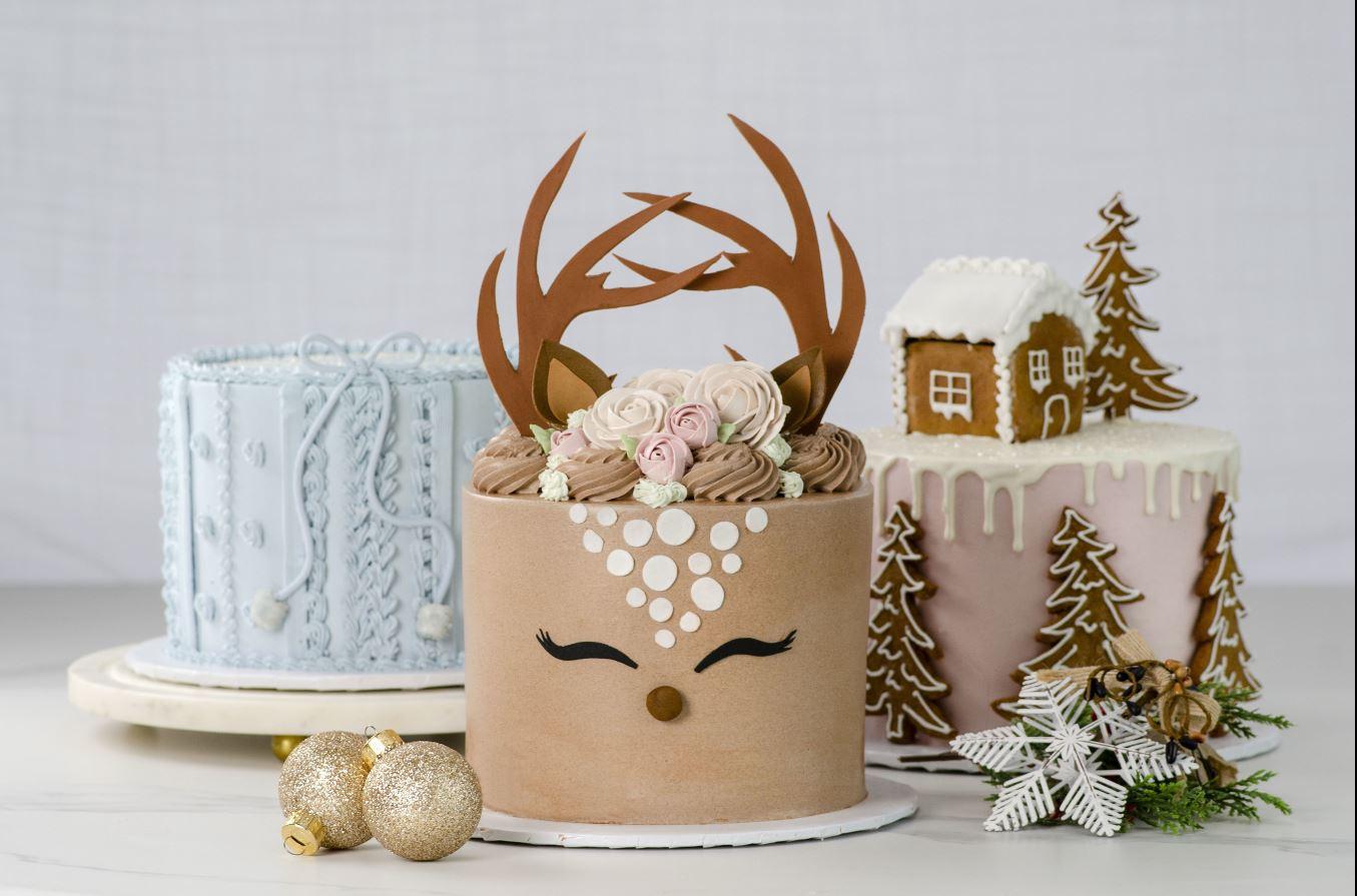 La Rocca decorative holiday cakes