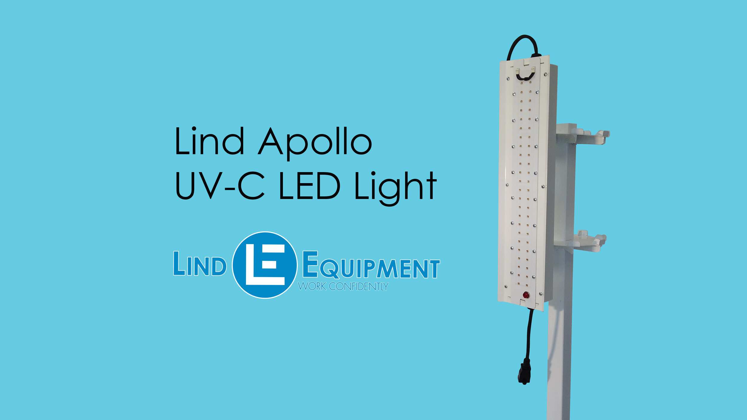 Apollo UV-C LED light by Lind