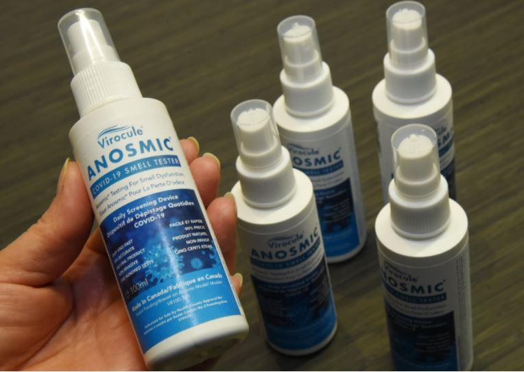 Anosmic spray bottle