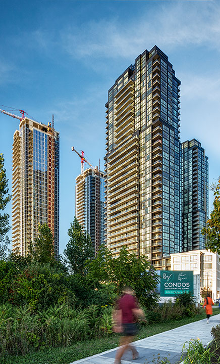 Condo Towers in Vaughan