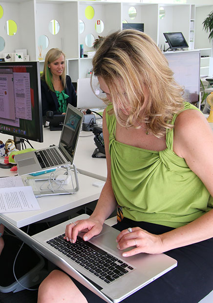 Talent working at Treefrog