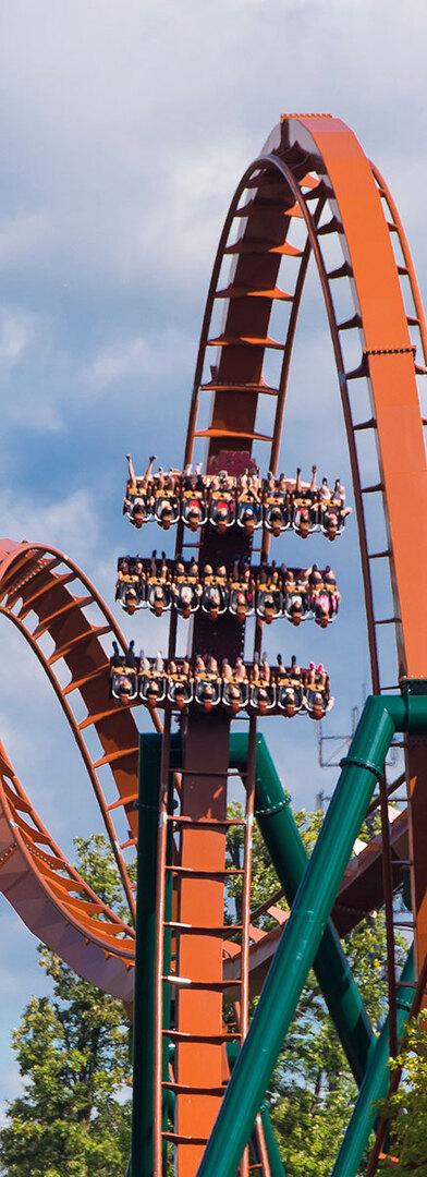Yukon Striker Rollercoaster