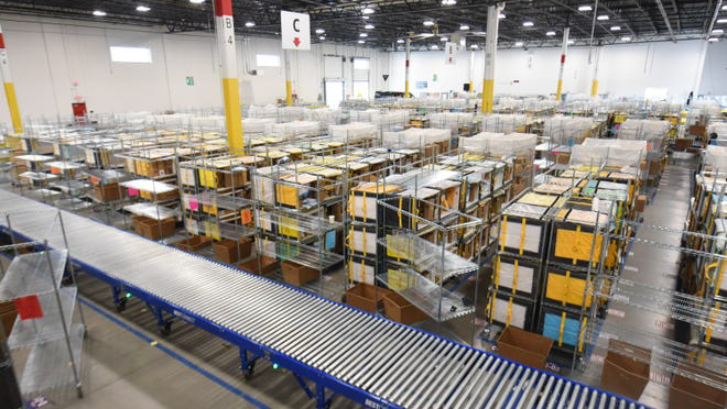 Amazon Delivery Warehouse