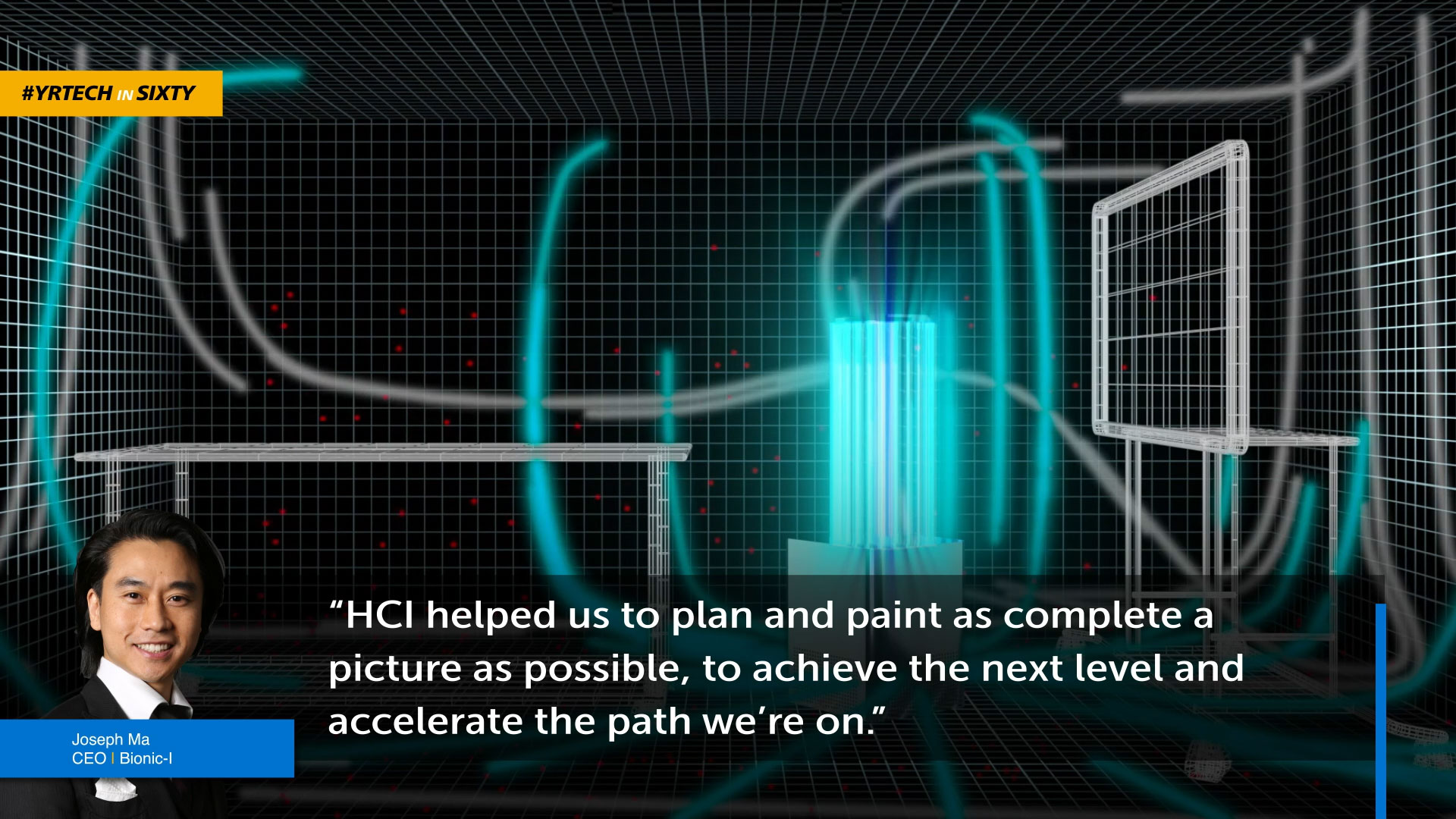 Bionic-I CEO quote and rendering of a product
