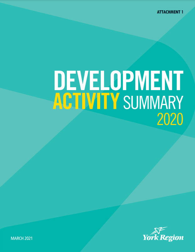 York Region Development Activity Summary 2020