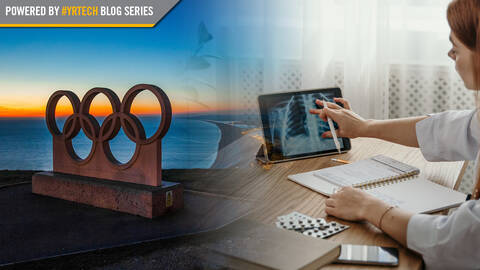 Olympic Rings and Doctor on iPad