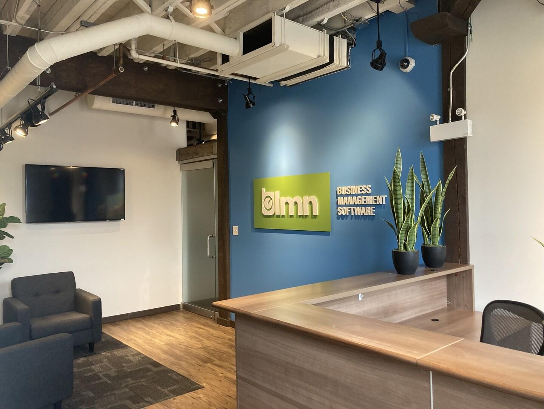 interior image of new LMN office in PEI